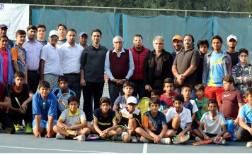 6th SICAS National Junior Tennis Championship's participants