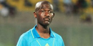 Joseph Lamptey , the referee banned by FIFA for life
