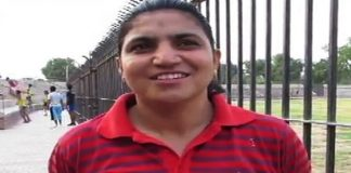 National record holder Nadia Nazeer