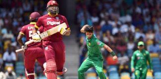 Pakistan vs West Indies 1st T20 Match