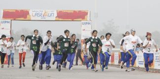Laser-Run Competition