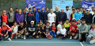 After rain effected first day, the Day 2 of the Nayza All Pakistan tennis Championship 2017, saw some action oriented tennis.