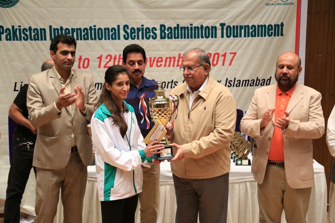 Pakistan International Series Badminton Tournament