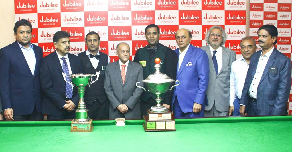 43rd National Snooker C'ship 2018: Muhammad Asif wears the winning cap