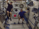 Badminton played on the International Space Station