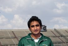 Shafqat Rasool who re-entered the team after a long gap