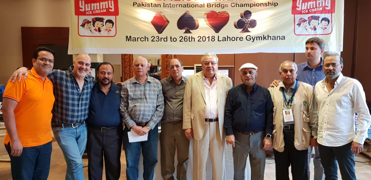 16th International Bridge Championship: Pak-Indo Team 2018 winner
