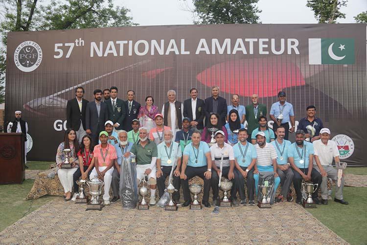 57th National Amateur Golf Championship Pakistan 2018
