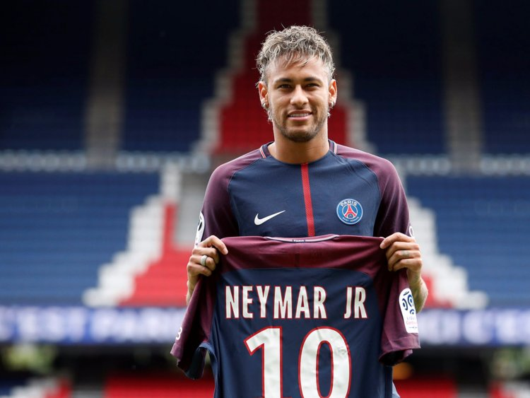 Brazil's Neymar: Currently the most expensive player in the world
