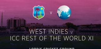 World XI Vs West Indies
