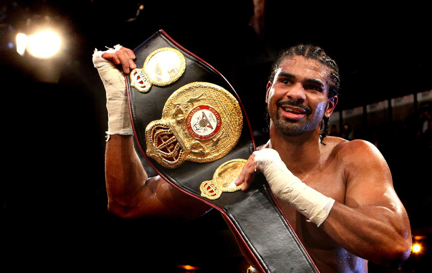 Heavyweight Champion David Haye