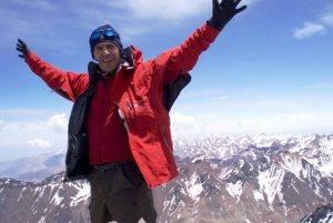 Canadian Climber Dessureault