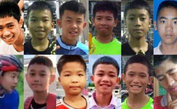 Thai Footballer Boys