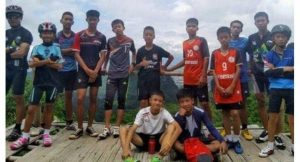 Thai Footballer Boys Cave Rescue
