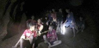 Thai Footballer Boys Cave Rescue