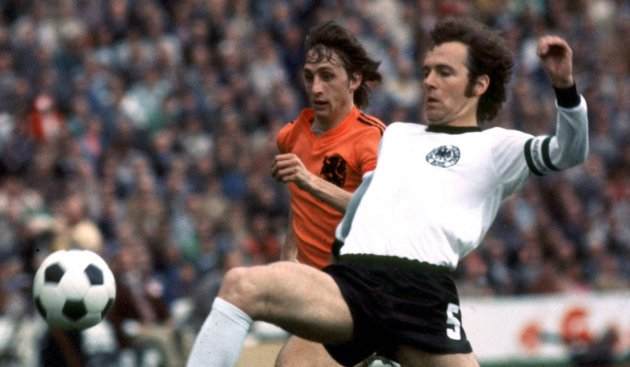 Image result for franz beckenbauer and johan cruyff