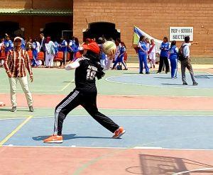 Culligan Girls Throwball Tournament 2018