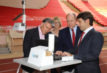IAAF Air Quality: First Stadium Monitor Installed in Monaco