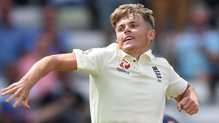 England Cricket Sam Curran Earns Central Contract