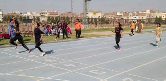 Inter-Tehsil Girls Athletics