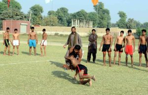 Inter-Tehsil Athletics Competition