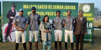 Saeed Uz Zaman Memorial Polo Cup '18 Masters