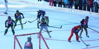 Pakistan First Ever Ice Hockey Match