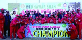 15th Khawar Shah National Women Baseball C'ship '18