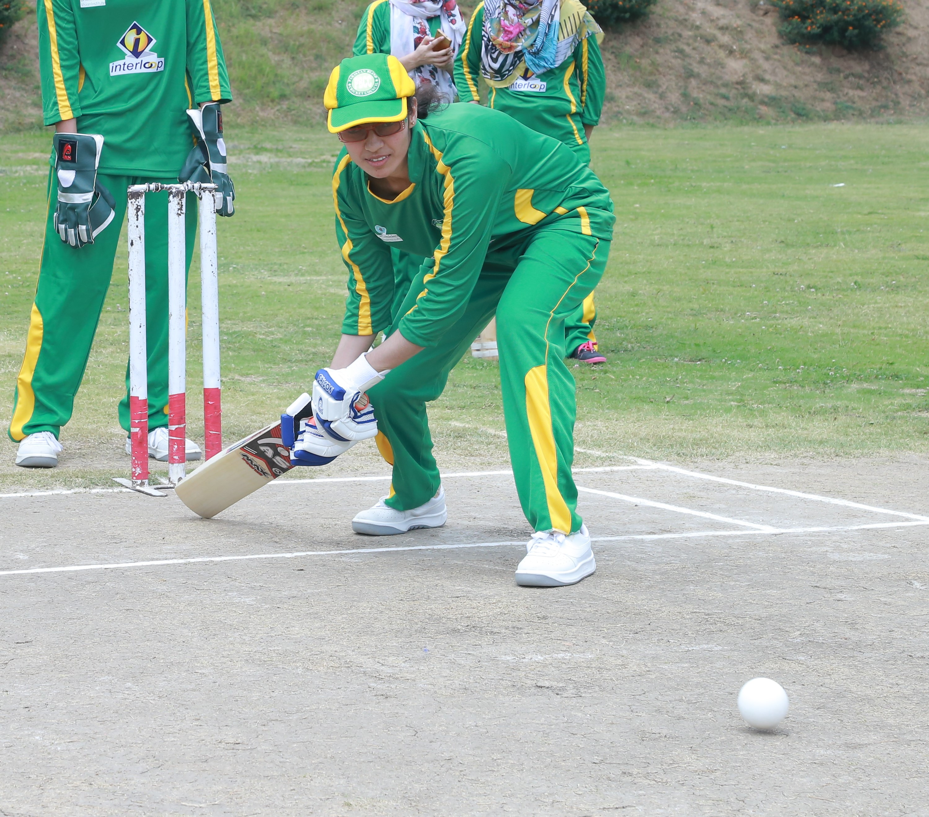 Rabia Shahzadi Captain Of Pakistan Women Blind Cricket