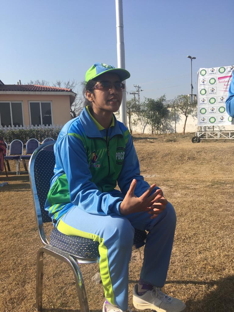 Blind Cricket Captain