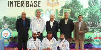 PAF Inter Base Golf Championship 2019