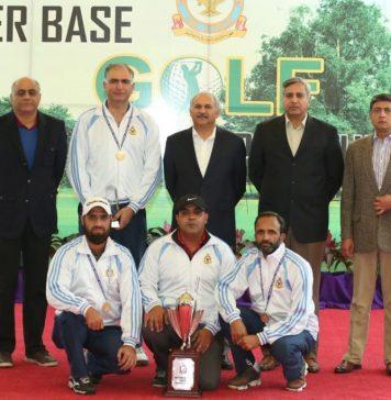PAF Inter Base Golf Championship 2019