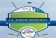 6th J.A.Zaman Open Golf