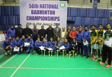 Badminton C'ships 2019