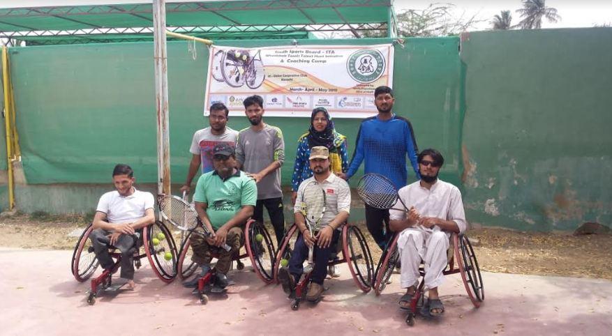 SSB Wheel Chair Tennis