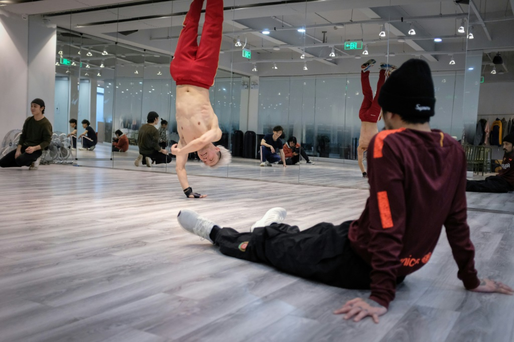 China breakdancer