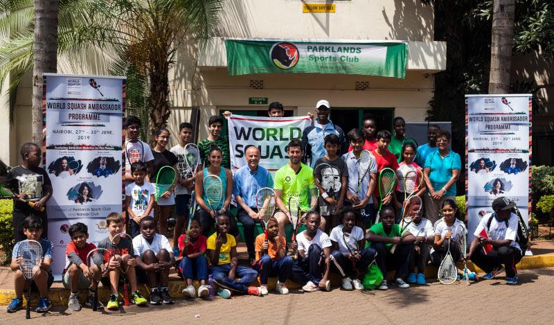 Squash-WSF Ambassador Programme