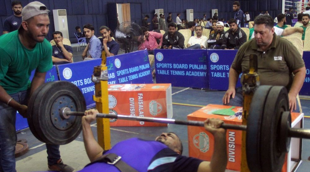 Punjab Inter-Division Power-lifting '19