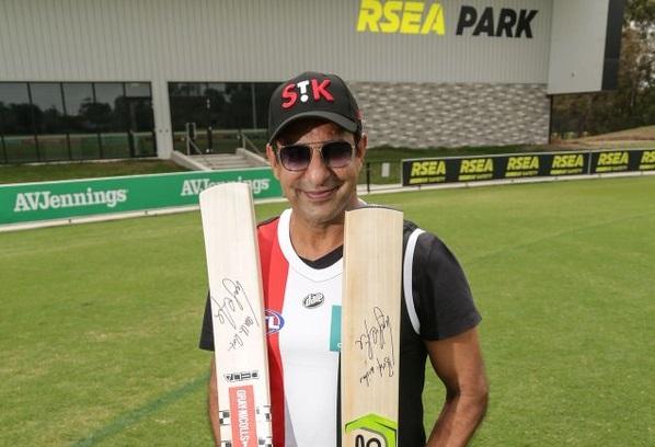 Wasim Akram Australia Fires