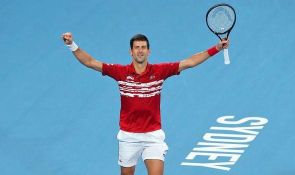 Novak Djokovic ATp cup