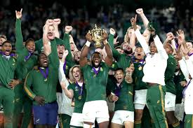 South Africa triumph in Rugby World Cup Final
