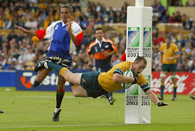 Australia score 22 tries v Namibia in the 2003 Tournament | Europe Hub