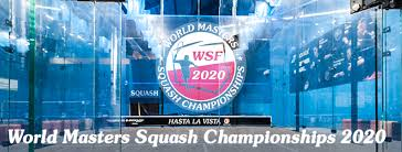 WSF World Masters Squash Championships 2021 - Home | Facebook