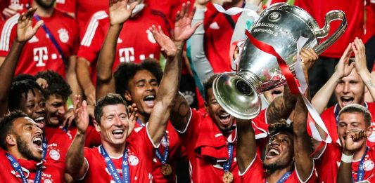 Champions League 2020 Man of the Match Kingstey Coman