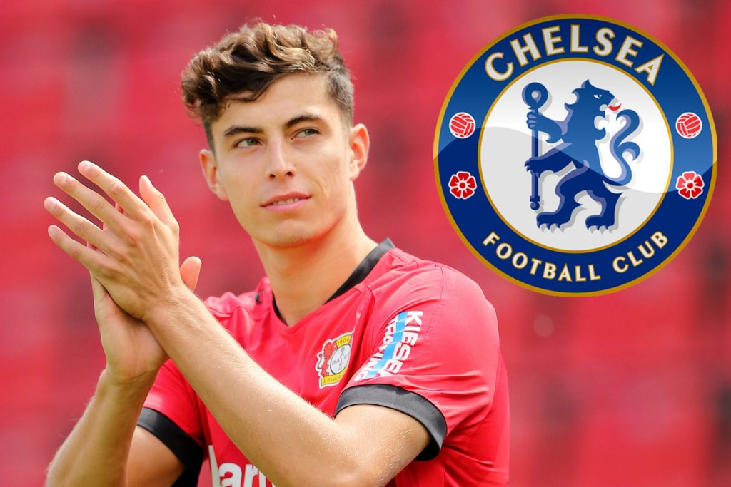Chelsea hiring Kai Havertz