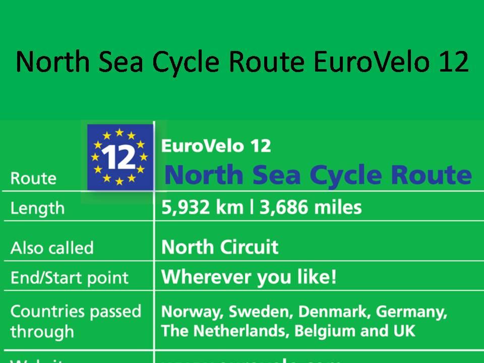 North Sea Cycle Route EuroVelo 12
