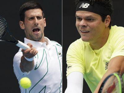 Novak vs Raonic