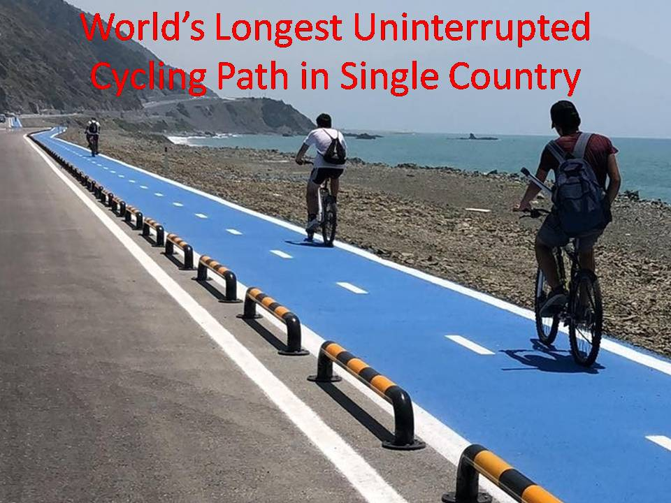 World's Longest Uninterrupted Cycling Path in Single Country
