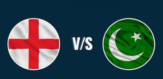 Pakistan versus England Cricket